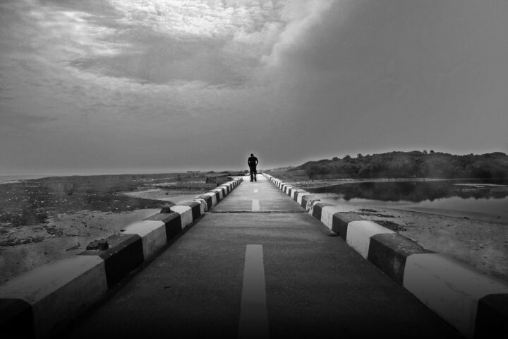 """""""The lonely walk"""" by VinothChandar is licensed under CC BY 2.0"""